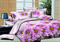 Комплект постельного белья 150*220 см, полуторный ранфорс 100% хлопок. (арт.9863)