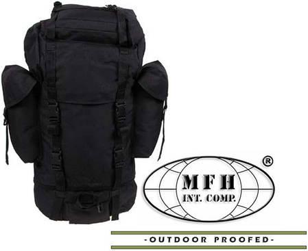 Армейский рюкзак Бундесвер 65л MFH чёрный 30253A, фото 2