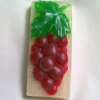 """Глицериновое мыло ручной работы """"Гроздь винограда""""., фото 1"""