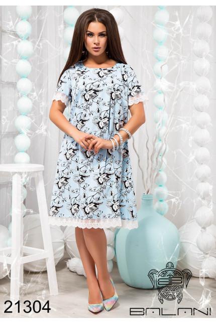 27ad800a6e5e2c7 Летнее свободное платье большого размера купить недорого в интернет  магазине Украина р.48-54