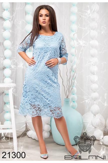 94c48d871374 Нарядное гипюровое платье большого размера купить недорого в интернет  магазине Украина р.48-54