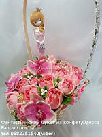 """Букет из конфет """"Фея в розовом""""№21, фото 1"""