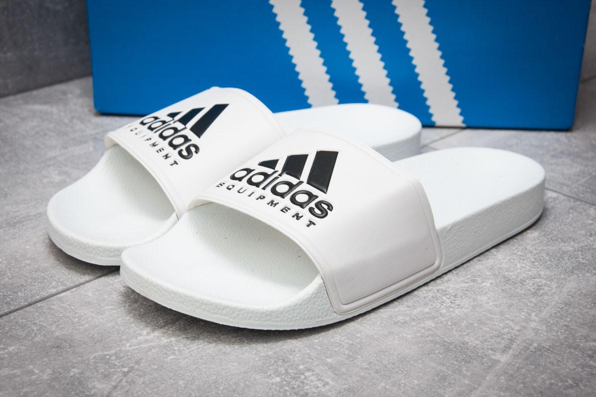 Шлепанцы мужские  Adidas FlipFlops, белые (13511),  [  40 (последняя пара)  ]