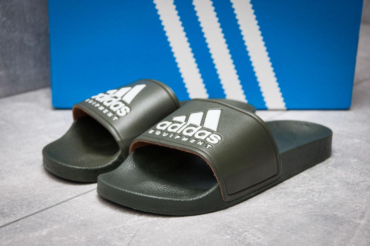 Шлепанцы мужские   Adidas FlipFlops, хаки (13512),  [  40 (последняя пара)  ] (реплика)