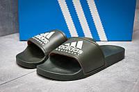Шлепанцы мужские   Adidas FlipFlops, хаки (13512),  [  40 (последняя пара)  ] (реплика), фото 1
