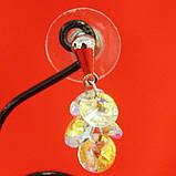 Сережки с кристалликами Swarovski, фото 2