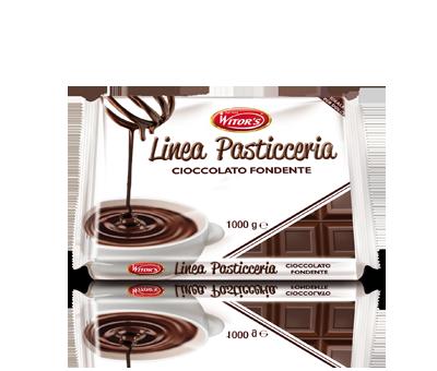 Горький классический шоколад Witors Extra Fondente, 1 кг