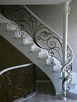 Классические кованые перила для лестниц, фото 1