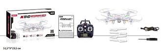 Р. У. Квадрокоптер Syma X5C з гіроскопом,камерою,аккум.USB кор.51,5*8,7*29,5 см