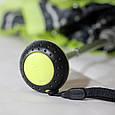 Женский зонт Knirps X1 Flakes Black Kn89 811 4990, механика, черный с желтым, фото 6