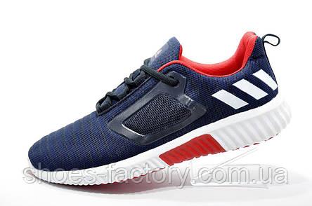 Мужские кроссовки в стиле Adidas Climacool Cm, Dark blue\Red\White, фото 2