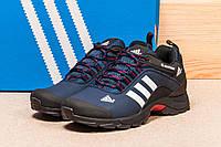 Кроссовки мужские Adidas Climaproof, темно-синий (1014-2),  [  44 (последняя пара)  ]