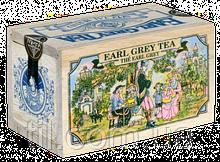 EARL GREY BLACK TEA Черный чай Эрл Грей с ароматом бергамота 100 гр.