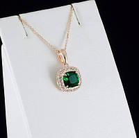 Экстазный кулон с кристаллами Swarovski + цепочка, покрытые золотом 0879