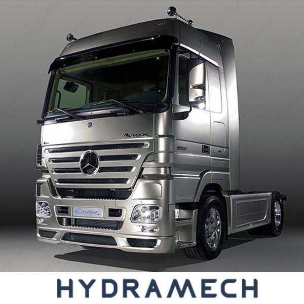 Установка гидравлики на Mercedes