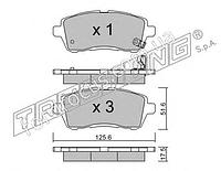 128110 колодки тормозные передние (Новое)