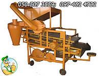 Калибратор средний с продувкой для зерновых культур мощностью 1.1 кВ, веялка производительность 480-1200кг/час