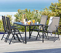 Комплект садовой мебели, метал  (4 стула и столик)