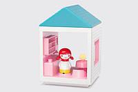 """Детский игровой домик """"Столовая"""" со светом для девочек от 2 лет (13х13х19 см) ТМ Kid O 10476, фото 1"""