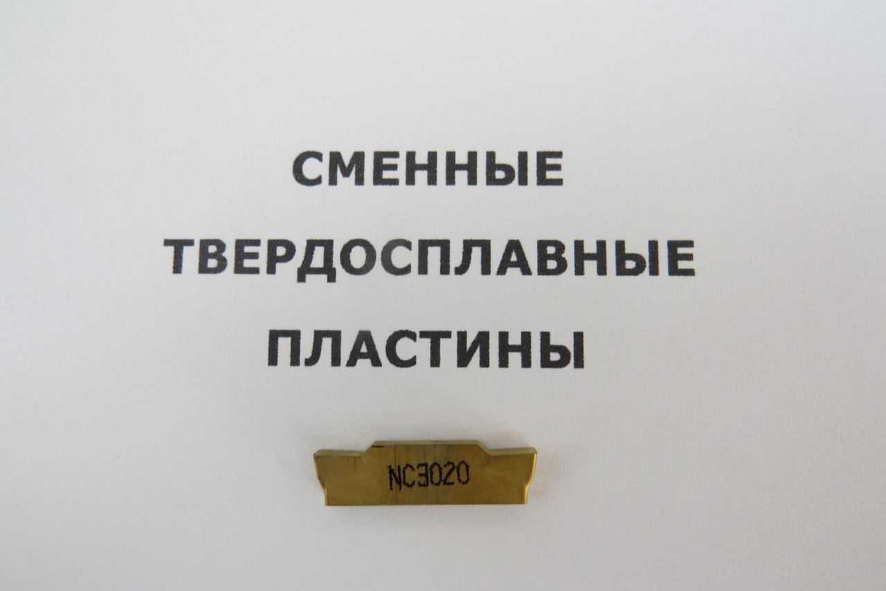 Твердосплавная пластина сменная MGMN 300-M NC3020 Korloy