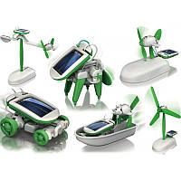 Робот - трансформер на солнечной батарее Solar Kit 6в1