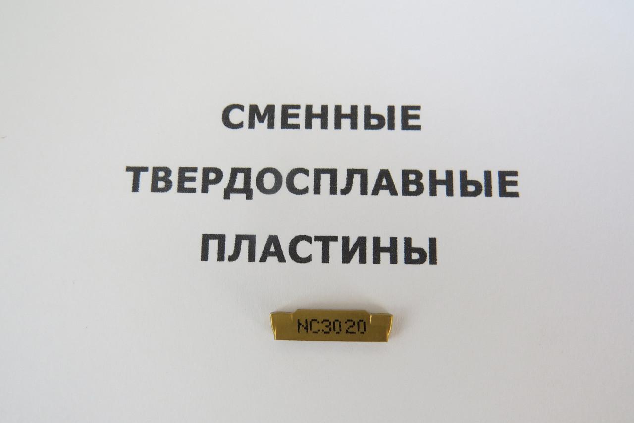 Твердосплавная пластина сменная MGMN 200-M NC3020 Korloy