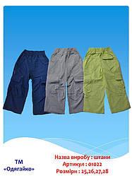 Штаны для мальчика р.25