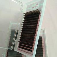 Ресницы Yelix черный шоколад микс 7-15 мм С 0.07