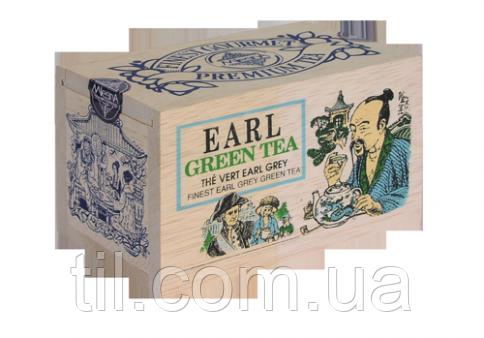 EARL GREY GREEN TEA Зеленый чай Эрл Грей 100 гр.
