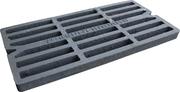 Решетка дождеприемника чугунная  900х450 мм (МЛ)