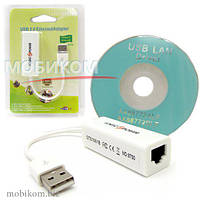 IT LAN Ethernet adapter Logic RJ45-to-USB2.0 10/100Mbps