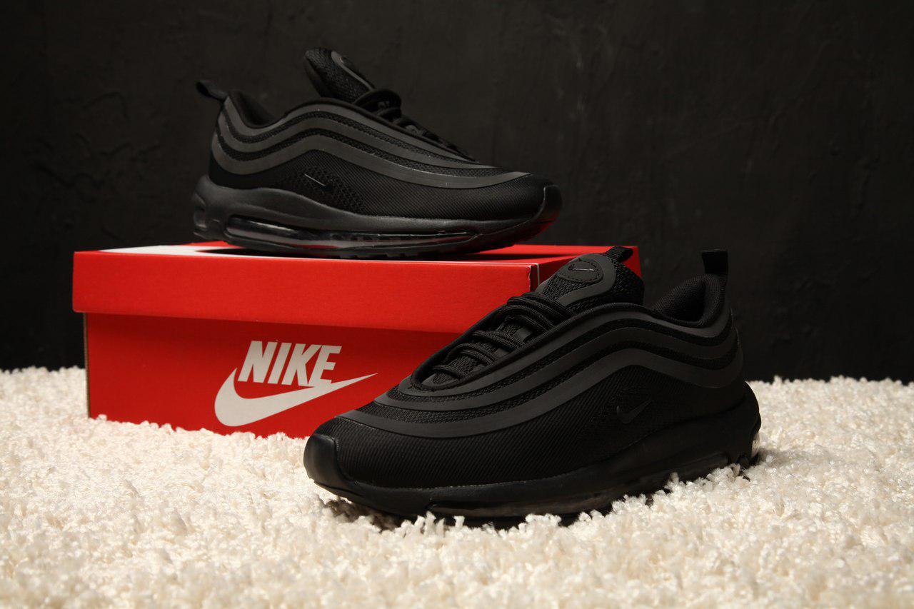 save off 62e12 08e27 Мужские кроссовки Nike Air Max 97 Ultra 17 Triple Black