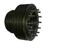 Шкив двигателя (к/вала) ЯМЗ-238АК 9-ти ручьевой 238АК-1005061-15 (Украина) Дон-1500 Дон-1500 (в сборе)
