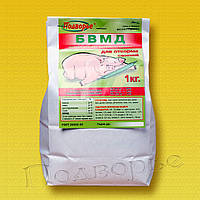 БМВД свиньи откорм 10%, 1 кг, (БВМК) для быстрого роста