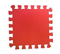 Мягкий пол коврик-пазл 30*30*1 см Красный