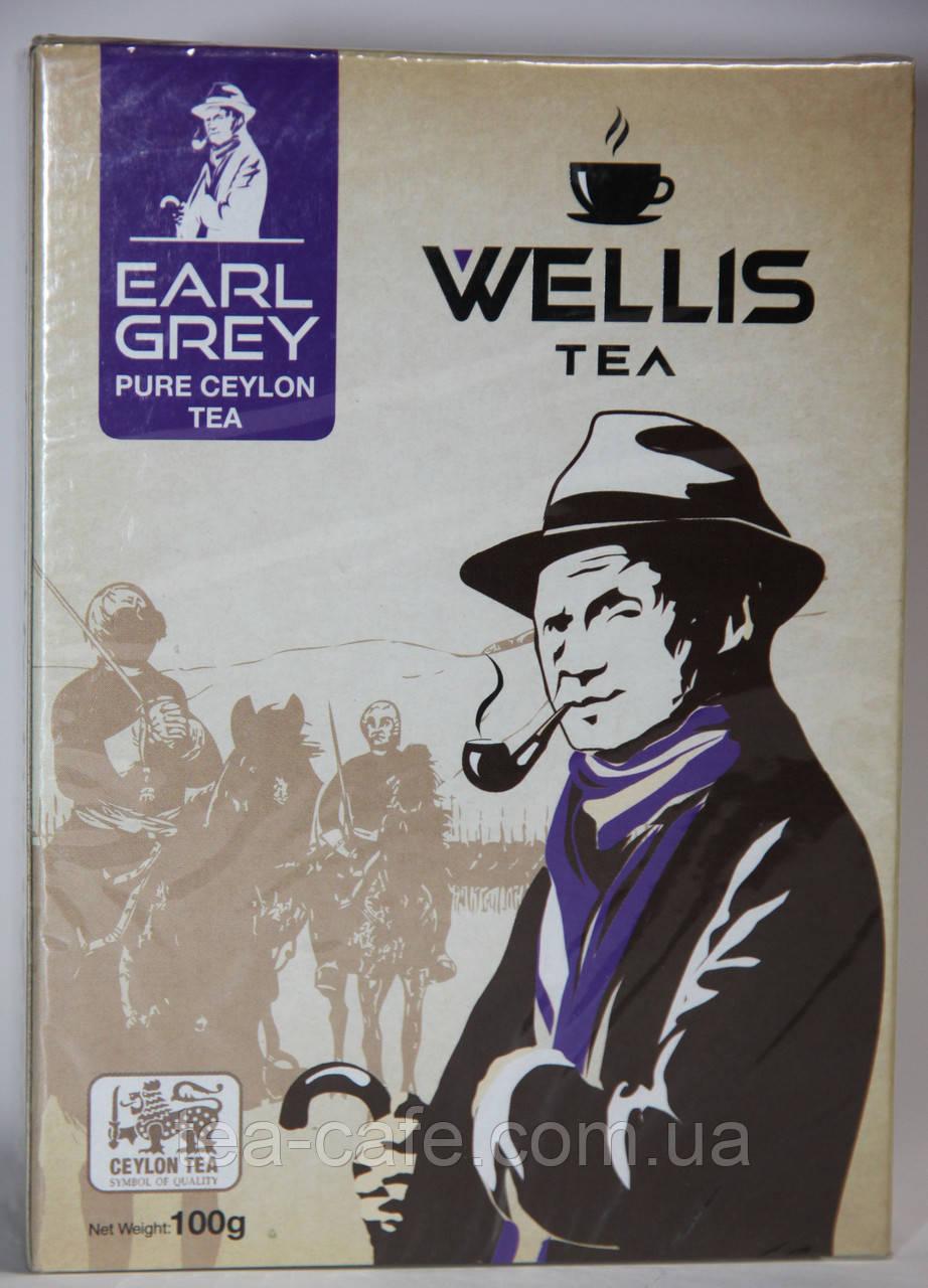 Чай Wellis бергамот 100 гр.