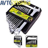 Набір ключів комбінованих Alloid. (СУПЕР ЦІНА), 15 предметів, 6-22 мм. Нобор ключей.