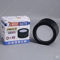 Накладной светодиодный светильник черный 10w HOROZ