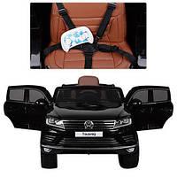 Копия Детский электромобиль Volkswagen Touareg KD666 лицензия   Мр 4 монитор лицензия