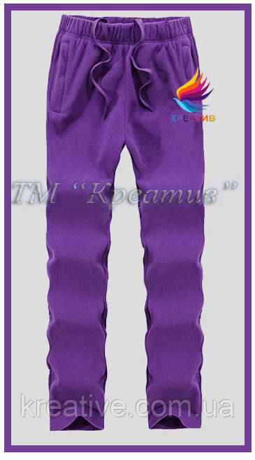 Флисовые штаны оптом (под заказ от 50 шт) с НДС