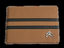 Кожаная обложка для прав Carrs с логотипом CITROEN коричневая (CIT17)