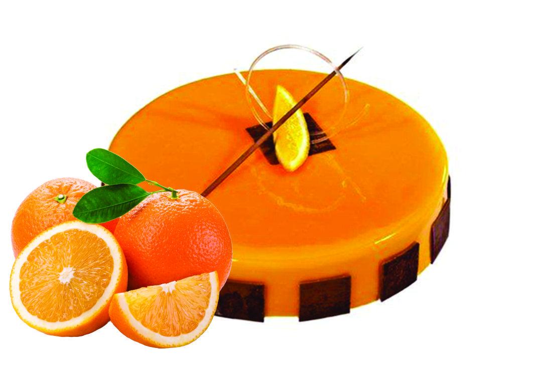 Глазур кондитерська Апельсин