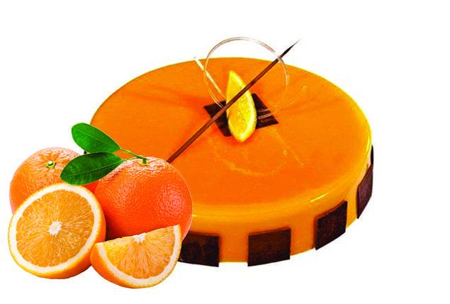 Глазур кондитерська Апельсин, фото 2
