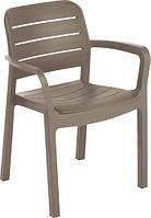 Стілець - крісло TISARA капучіно (Allibert), фото 1