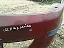 Бампер передний Mazda 323 BJ 1997-2000г.в. вишня шпаклеван, фото 6