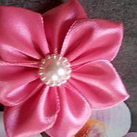 Цветочек-резинка, розовый