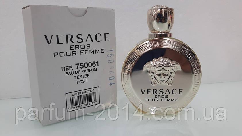 Женская парфюмированная вода Versace Eros Pour Femme tester (реплика), фото 2