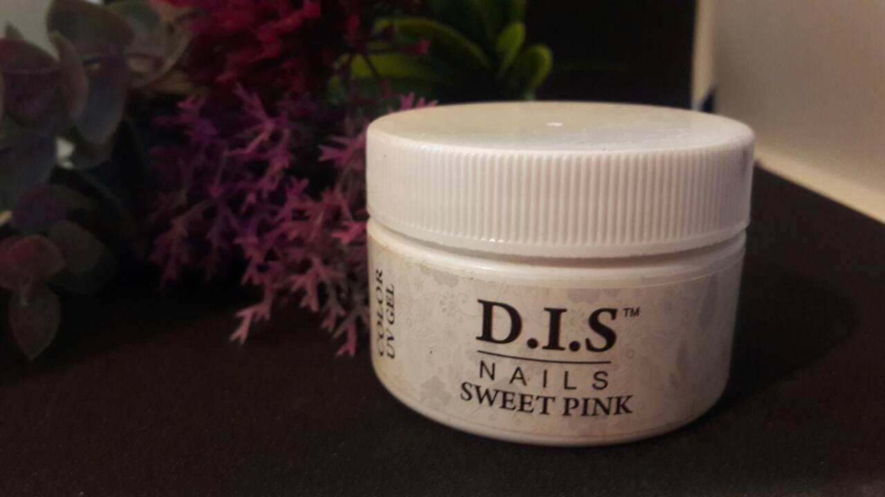 Гель цветной DIS 15ml Sveet pink