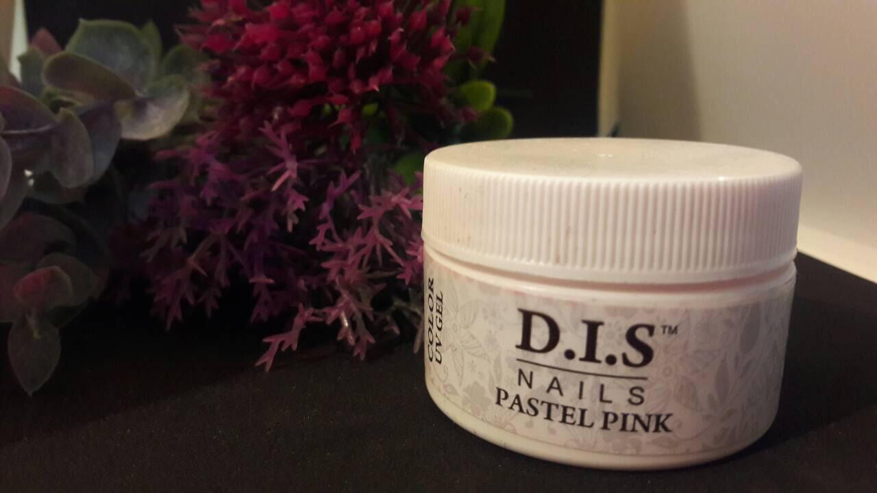 Гель цветной DIS 15ml Pastel pink