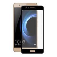 Защитное стекло для Huawei Honor 7c Pro цветное Full Screen
